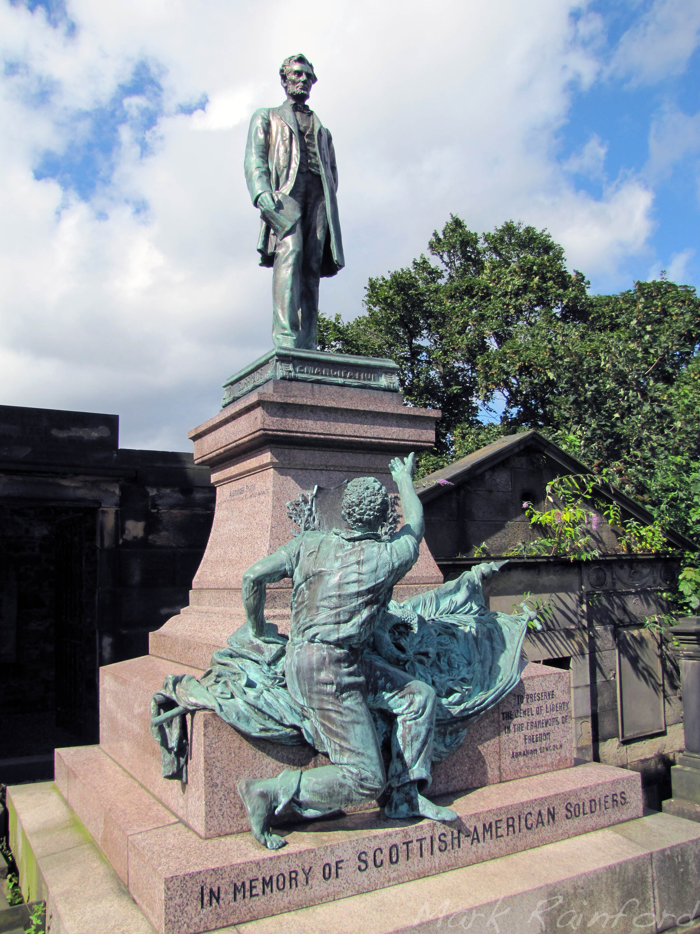 American Civil War Memorial Eye On Edinburgh