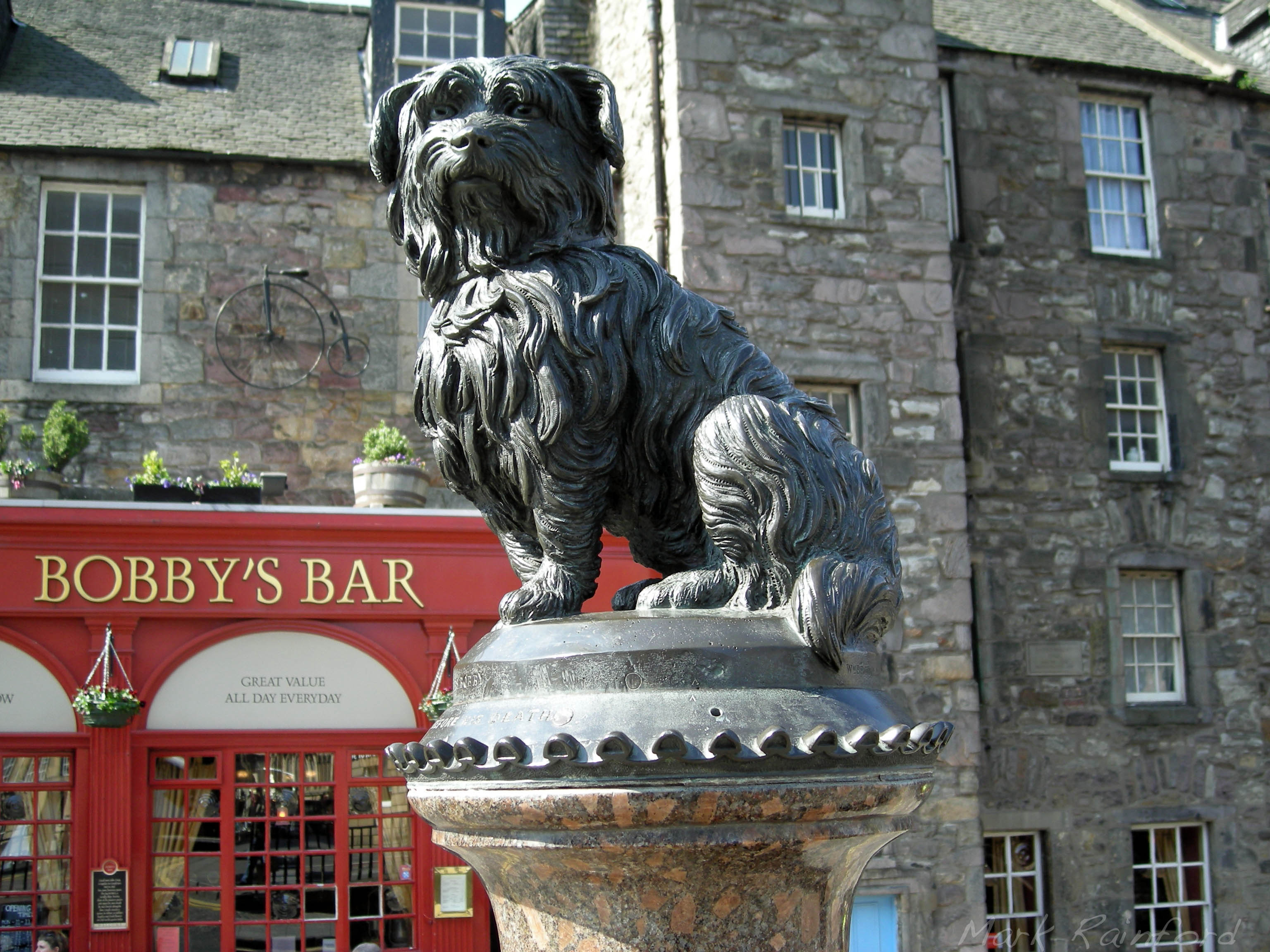 Greyfriars Bobby Eye On Edinburgh