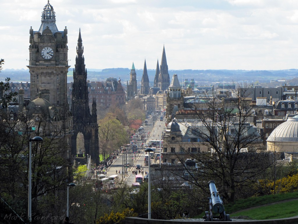 Edinburgh's princes street