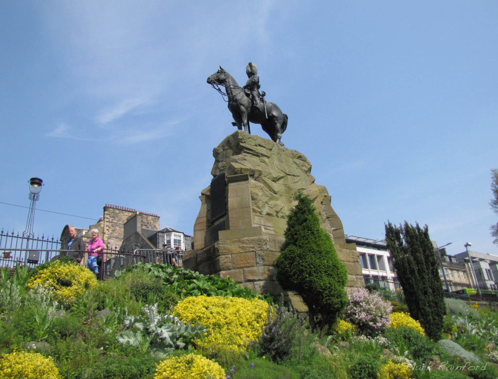 Royal Scots Greys Statue