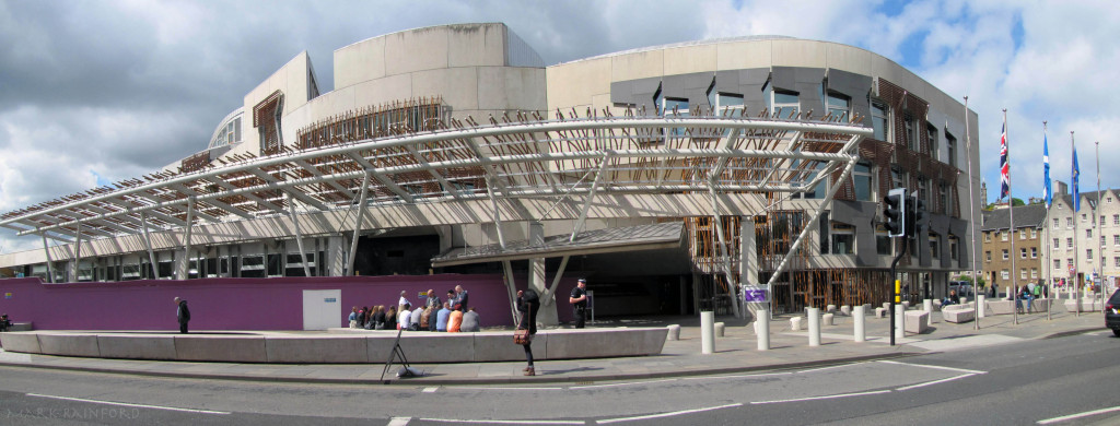 Scottish Parliament Panoramic