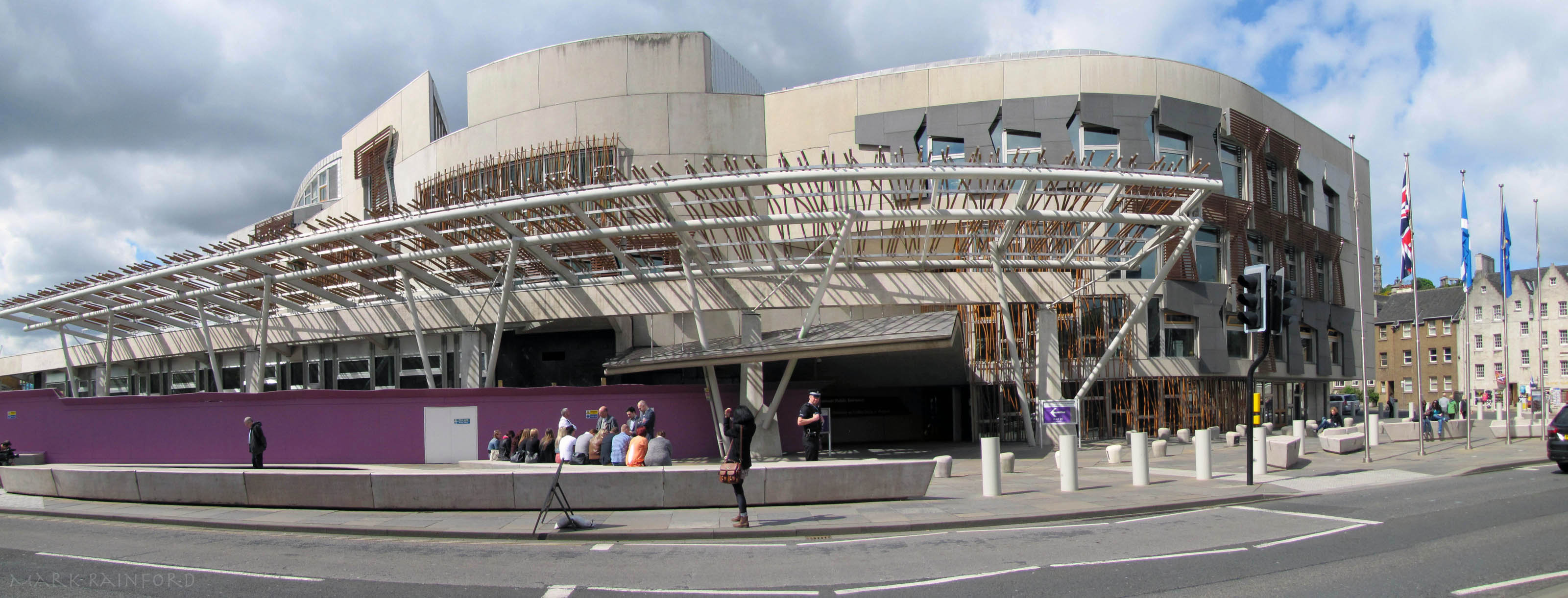 Scottish Parliament Eye On Edinburgh
