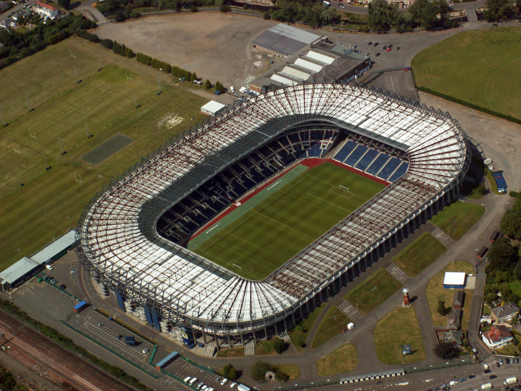 Aerial - Murrayfield