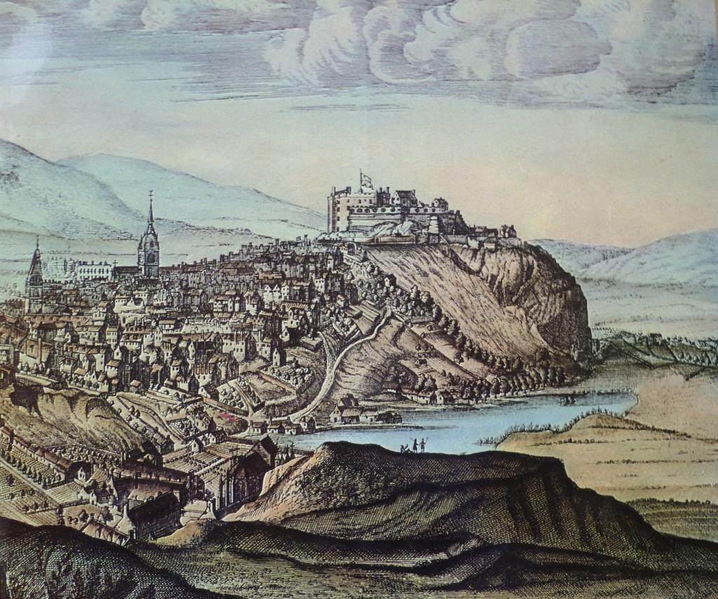 Slezer_Castle_&_Nor_Loch_c.1690