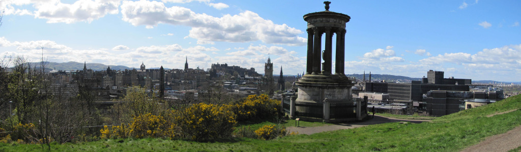 Panoramic View From Calton Hill