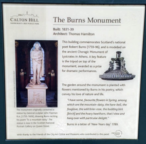 Robert Burns Monument