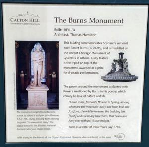 Robert Burns Monument