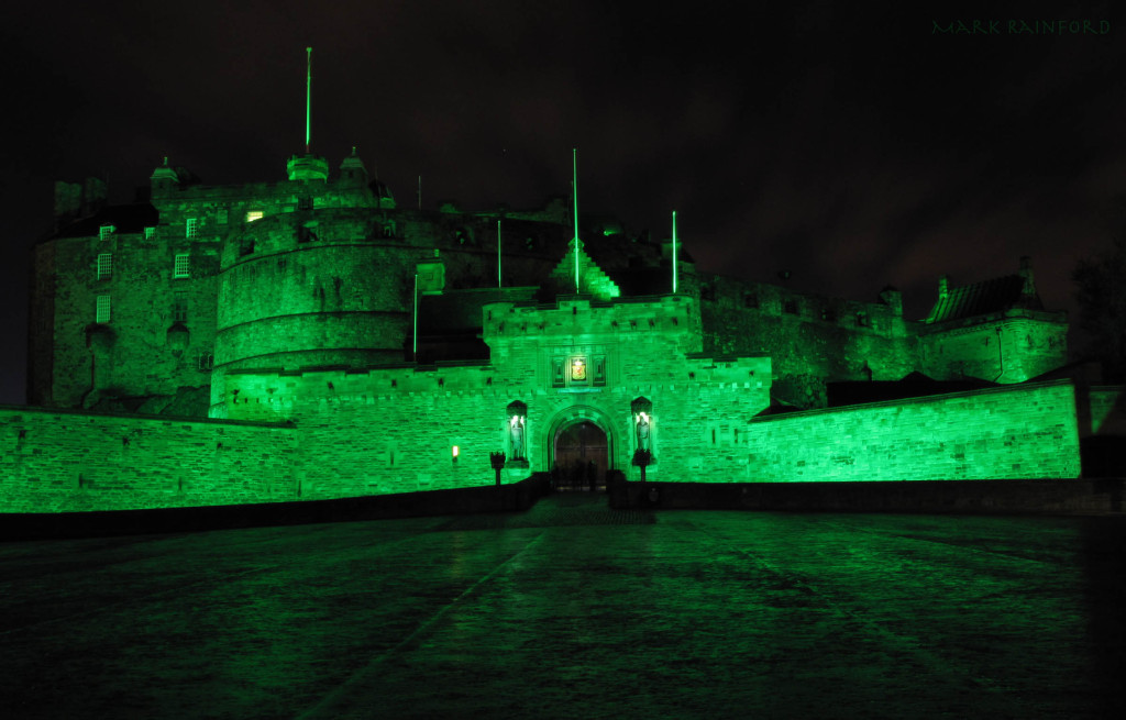 Green Edinburgh Castle