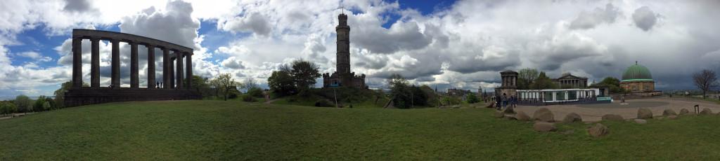 Calton Hill - Panoramic
