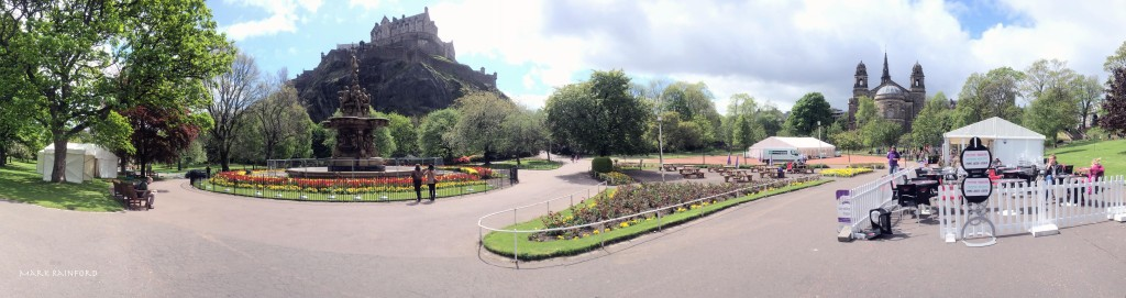 West Princes Street Gardens - Panoramic