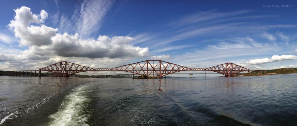 Forth Bridge Panoramic - Now a Unesco World Heritage Site