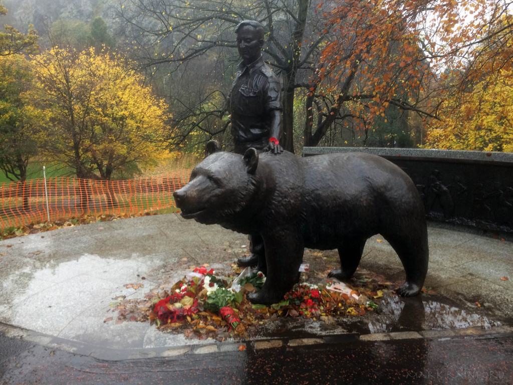 Wojtek - Statue in Princes Street Gardens