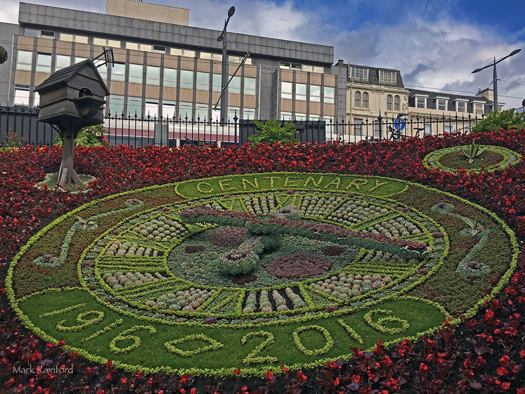 Edinburgh's Floral Clock 2016