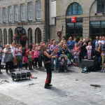 Edinburgh Festival 2016 - Chainsaw Juggler