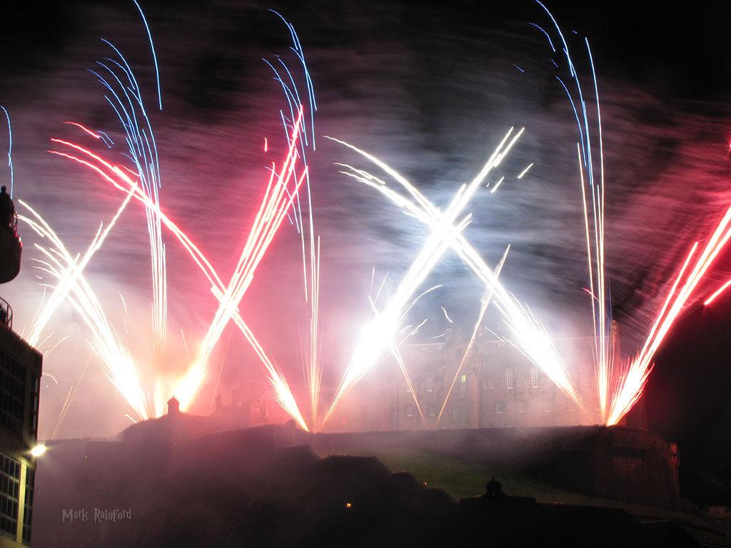 Edinburgh Festival 2016 - Fireworks