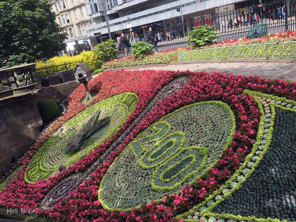 2017 Floral Clock