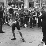 Edinburgh Festival - Street Performer