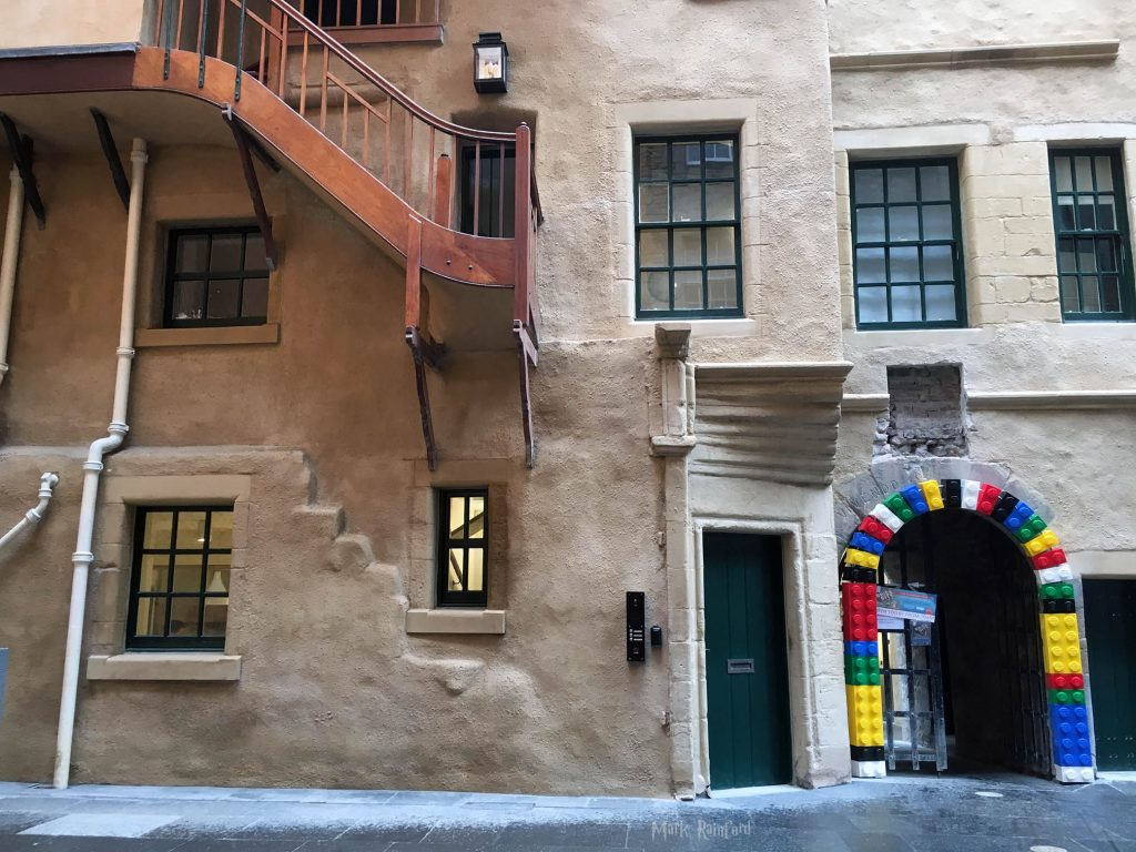 Riddle's Court With Lego