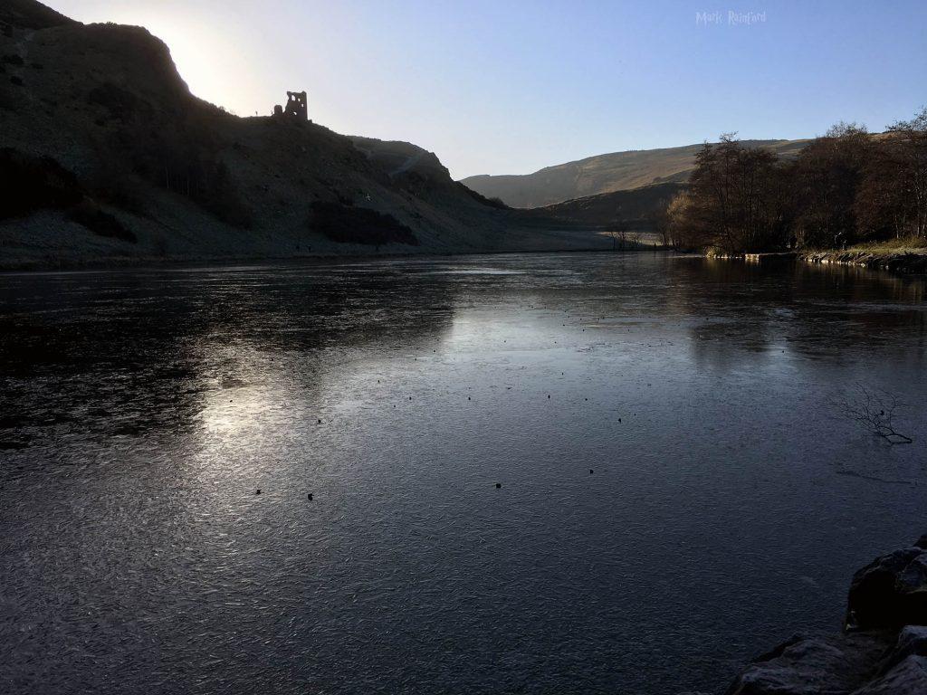 Winter in Edinburgh - St Margaret's Loch