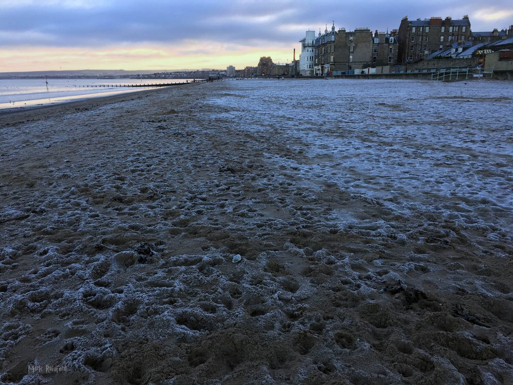 Winter in Edinburgh - Portobello Beach