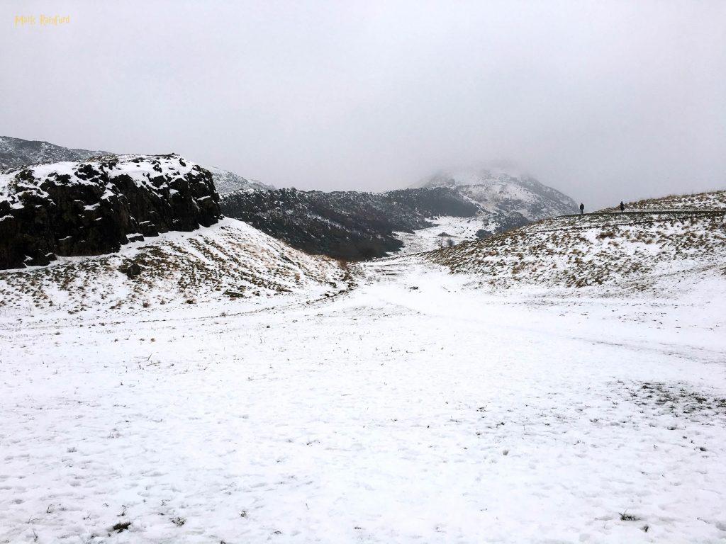 Arthurs Seat snow
