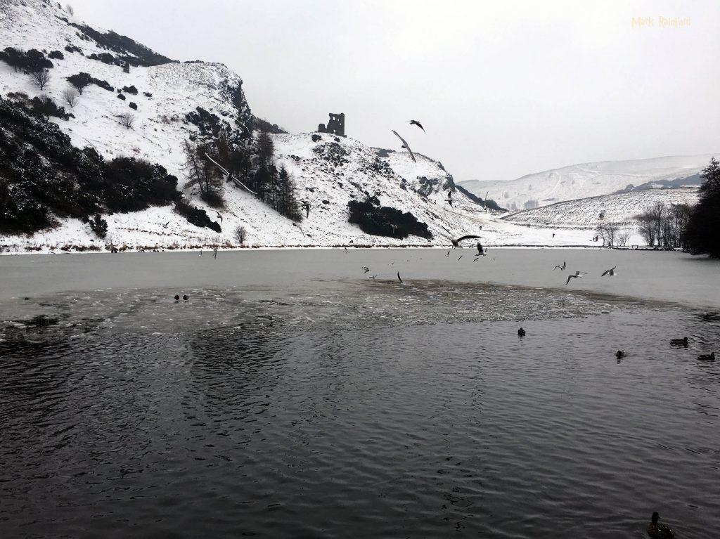 St Margarets Loch Snow