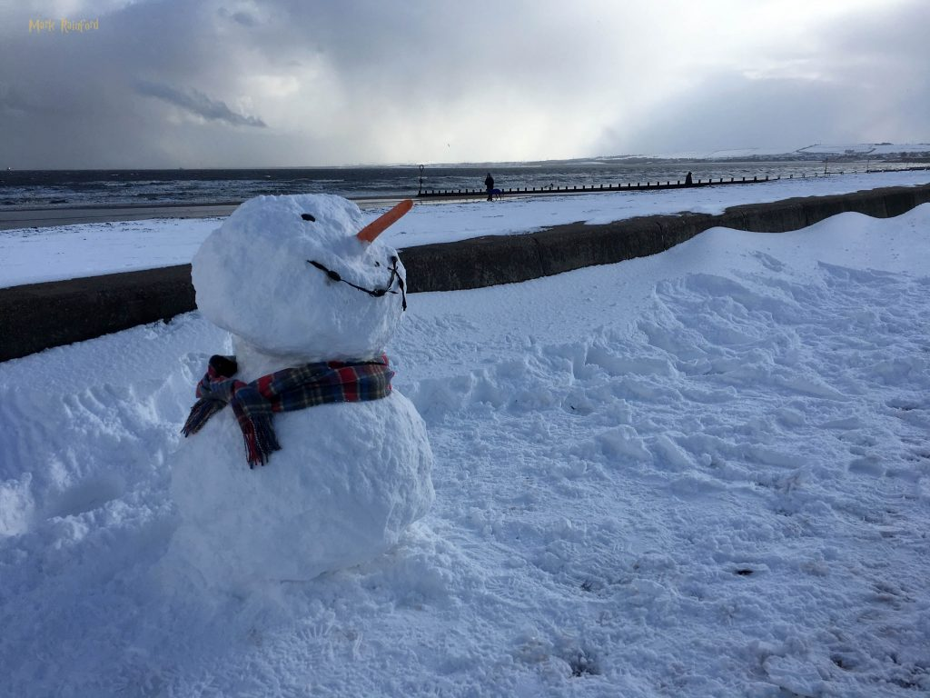 Beast From The East Portobello Snowman