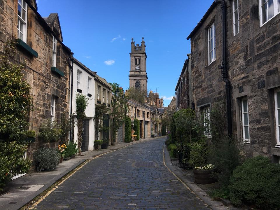 Circus Lane - Edinburgh