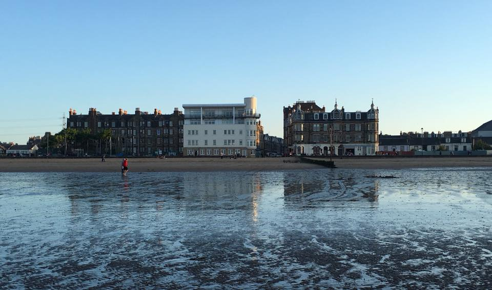 reflections portobello beach