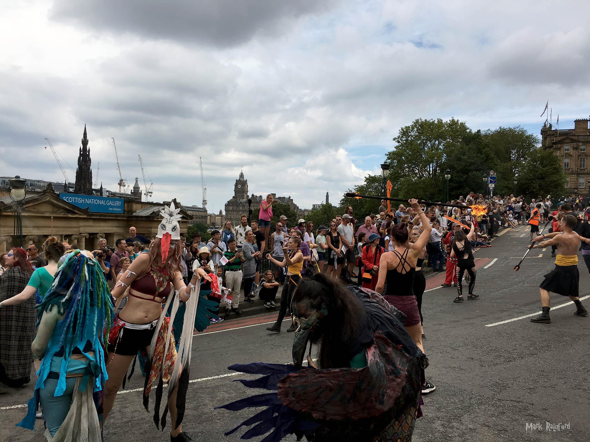Edinburgh Festival Cavalcade 2018 Fire
