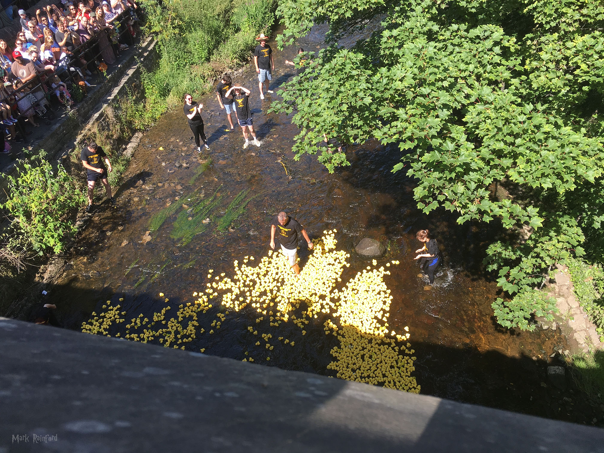 stockbridge duck race 2018