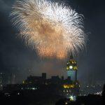 Festival Fireworks 2018 Orange