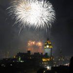 Festival Fireworks 2018 White