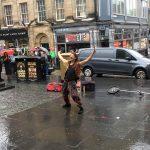 Edinburgh festival fringe 2018 street performers