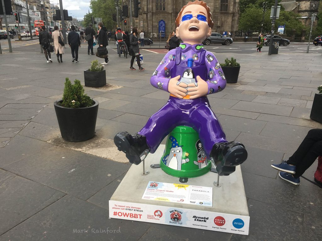OWBBT 2091 Purple Penguin Wullie