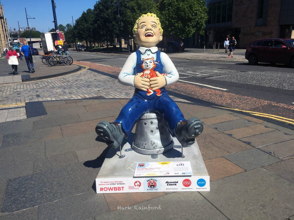 OWBBT 2684 Oor Wullie Wee Jeemy and the Toon Cat