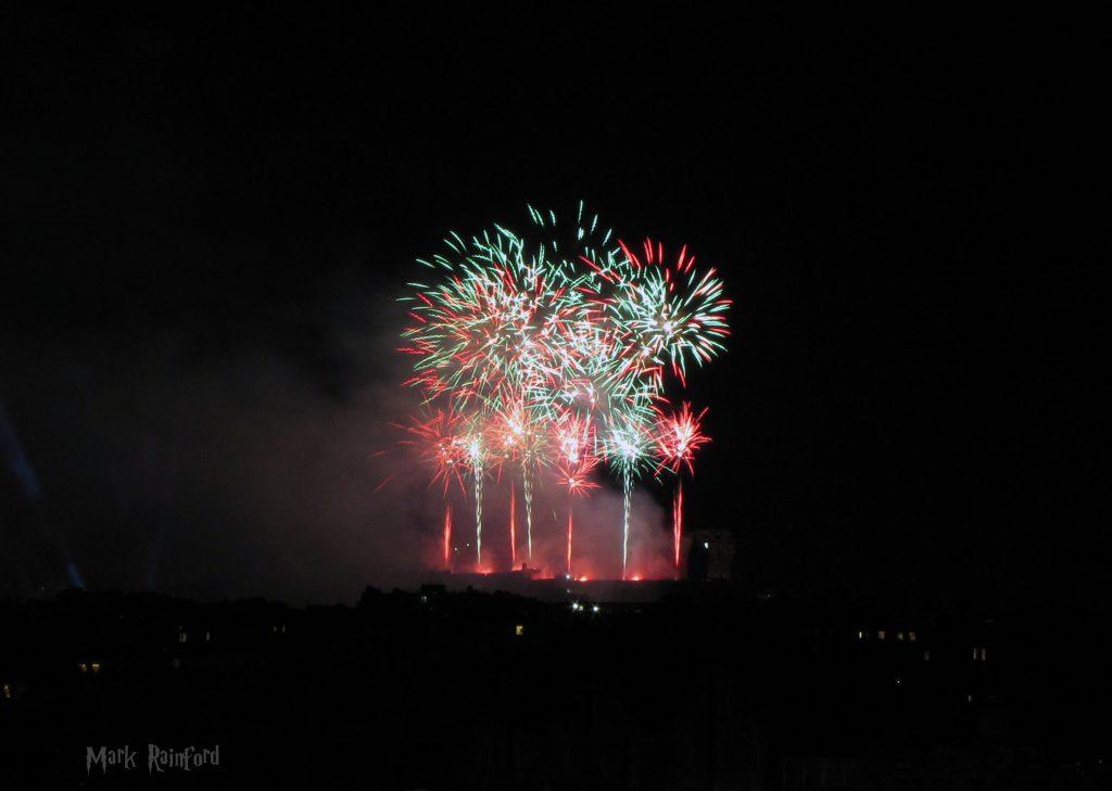 Edinburgh Virgin Money Fireworks Concert 2019 From Inverleith Park