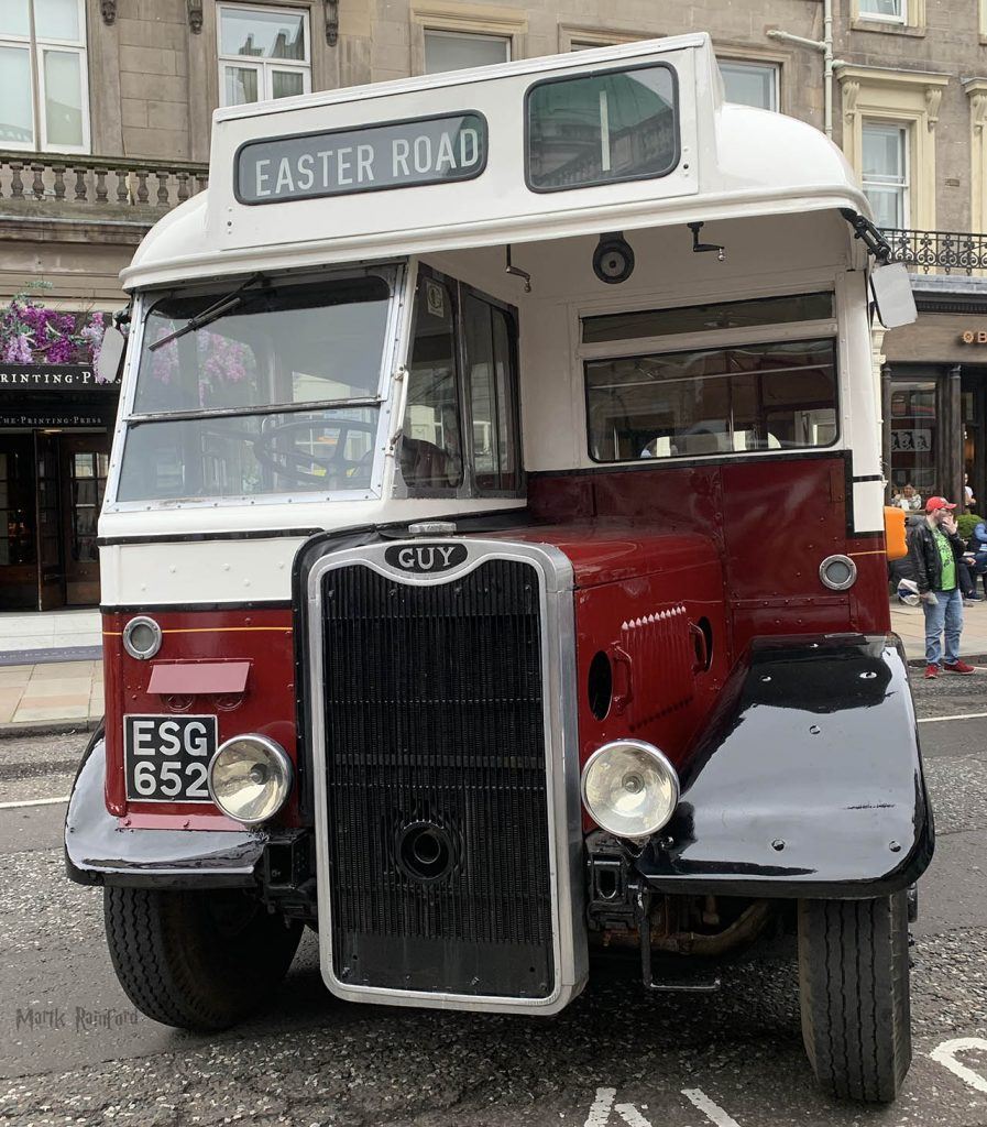 Lothian Buses Vintage Bus 1 Doors Open Day 2019