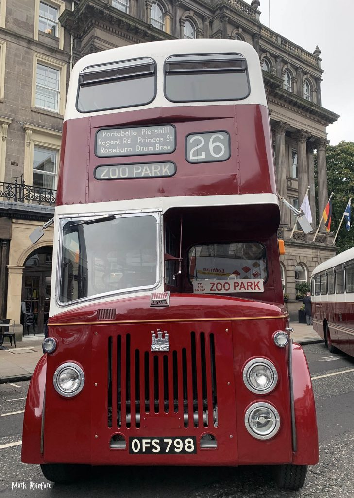 Lothian Buses Vintage Bus 26 Doors Open Day 2019