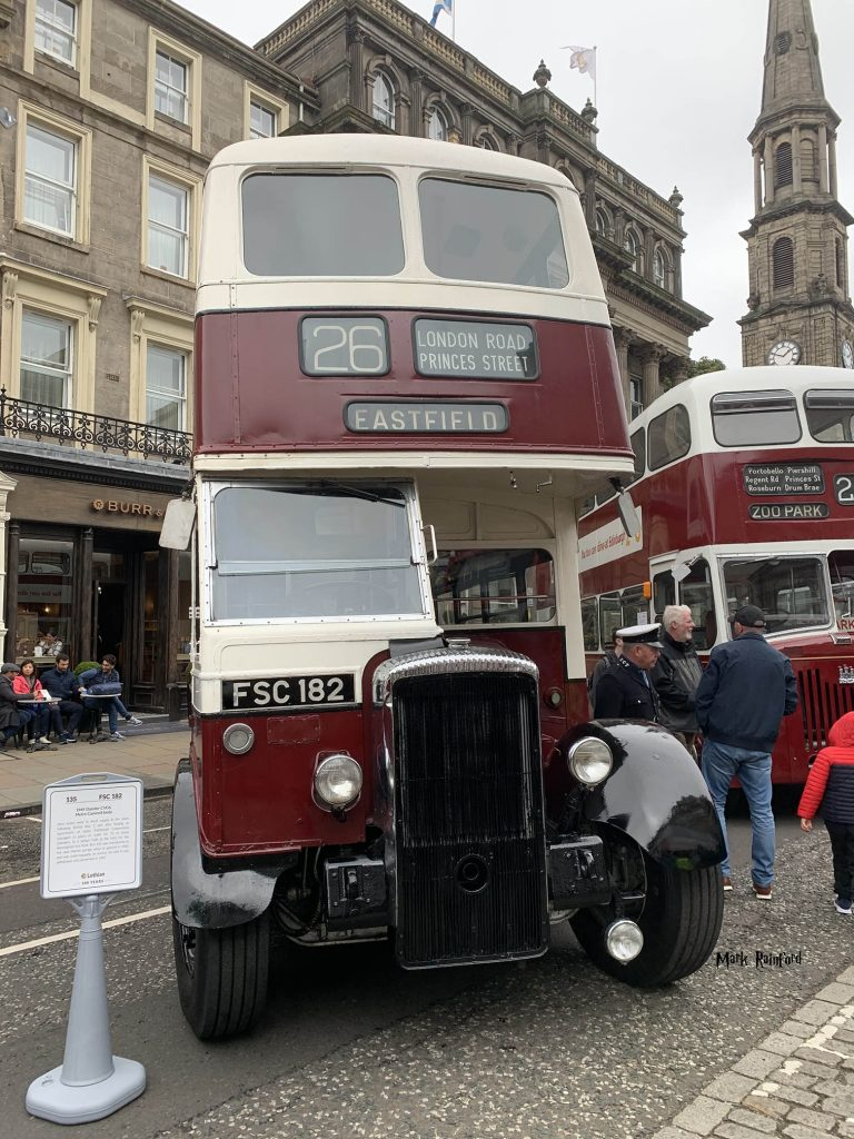 Lothian Buses Vintage Bus 26 Old Doors Open Day 2019