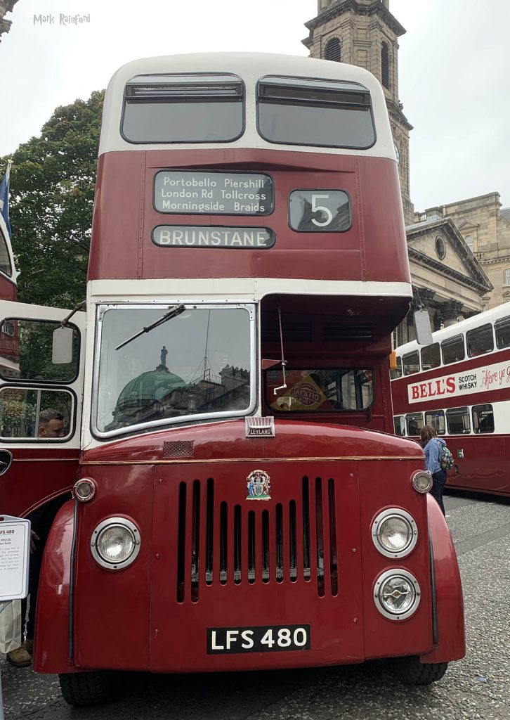 Lothian Buses Vintage Bus 5 Doors Open Day 2019