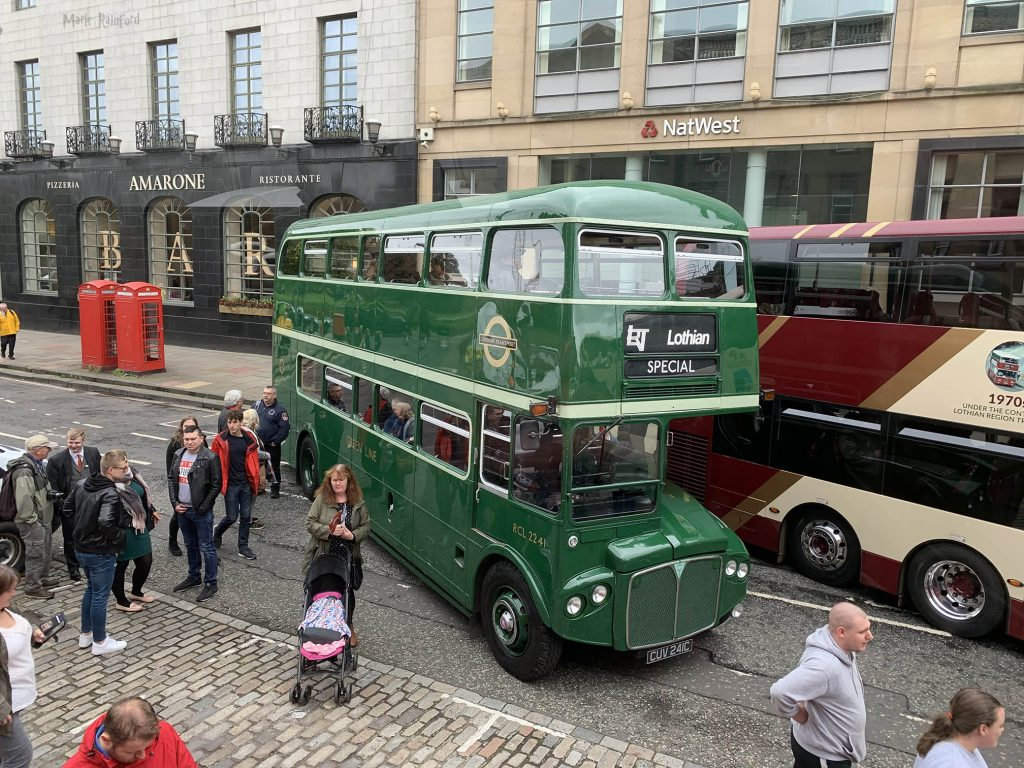 Lothian Buses Vintage Bus Special Doors Open Day 2019