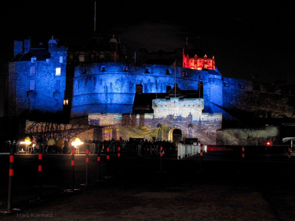 Edinburgh Castle of Light