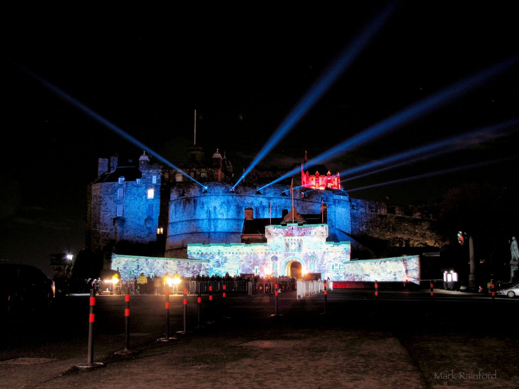 Edinburgh Castle of Light