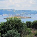 Cramond Island view to Inchgarvie Island