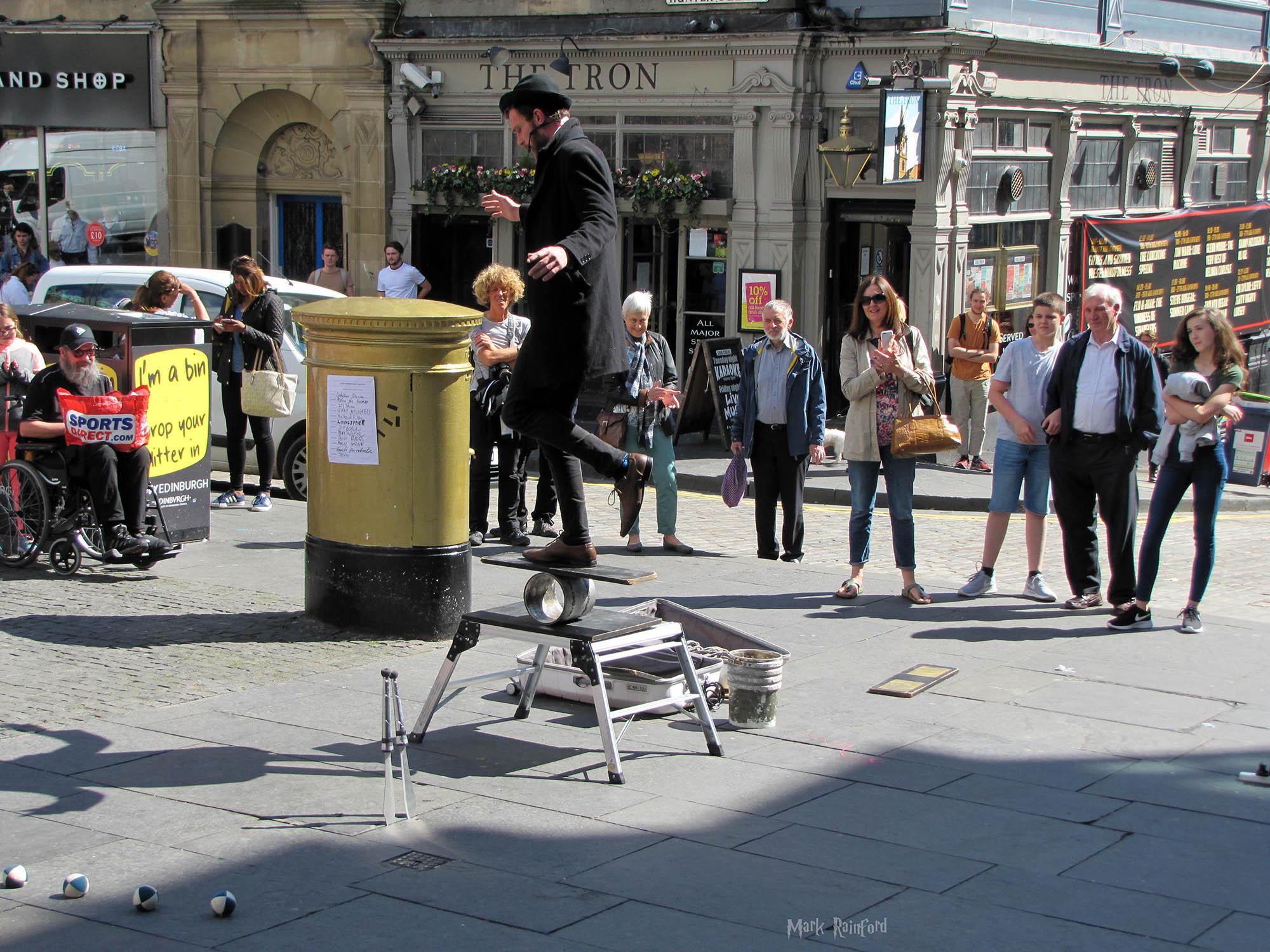 Edinburgh Festival Fringe - Street Performers